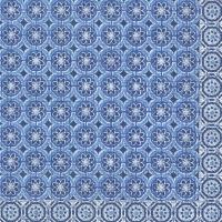 Servietten 33x33 cm - MARRAKESCH blau