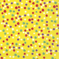 Servietten 33x33 cm - DOLLY yellow