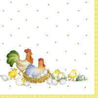 Servietten 33x33 cm - NEW EASTER FARMERS (V&B)