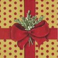 Servietten 33x33 cm - Ein Geschenk für dich Rotgold