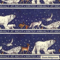 Servietten 33x33 cm - WINTER ANIMALS