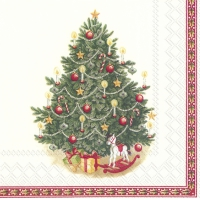 Servietten 33x33 cm - TOYS FANTASY TREE (V&B)