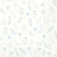Servietten 33x33 cm - TILDA white blue