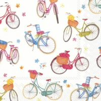 Servietten 33x33 cm - BICYCLE