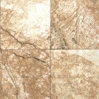 Servietten 33x33 cm - LAPIS light brown