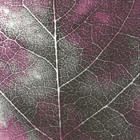 Servietten 33x33 cm - THE LEAF pink