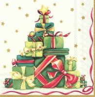 Servietten 33x33 cm - FESTIVE CHRISTMAS GIFTS