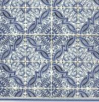 Servietten 33x33 cm - LORENZO blue