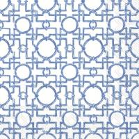 Servietten 33x33 cm - AIKO blue