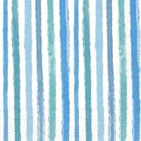 Servietten 33x33 cm - COLOURFUL STRIPES blue