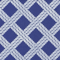 Servietten 33x33 cm - SAILOR´S ROPE blue