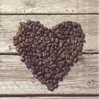Servietten 33x33 cm - COFFEE TO LOVE