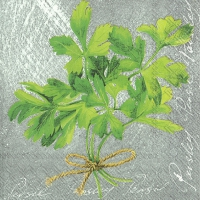 Servietten 33x33 cm - HERBAL FLAVOUR PARSLEY