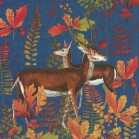 Servietten 33x33 cm - AUTUMN DEER