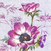 Servietten 33x33 cm - AVA violet