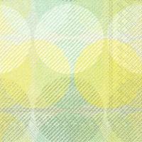 Servietten 33x33 cm - EMI green