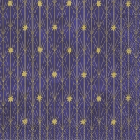 Servietten 33x33 cm - ARTDECO LITTLE STARS violet