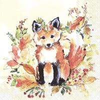 Servietten 33x33 cm - SWEET FOX