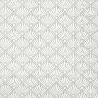 Servietten 33x33 cm - ROCAILLE white silver