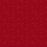 Servietten 33x33 cm - CARINO UNI dark red