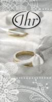 Taschentücher Romantic Moments silver