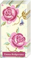 Taschentücher - Rose und Biene