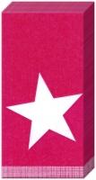 Taschentücher - PURE STAR dunkelrot
