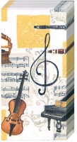 Taschentücher MUSICA CLASSICA