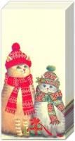 Taschentücher - CHRISTMAS CATS