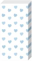 Taschentücher MY LITTLE SWEETHEART li. blue