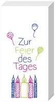 Taschentücher - ZUR FEIER DES TAGES rose blue