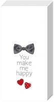 Taschentücher YOU MAKE ME HAPPY