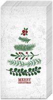 Taschentücher - NATURAL CHRISTMAS TREE