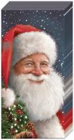 Taschentücher - SANTA IS WAITING FOR CHRISTMAS