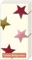Taschentücher - STARGAZER LILY STAR cream