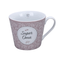 Porzellan-Tasse -  Super Oma