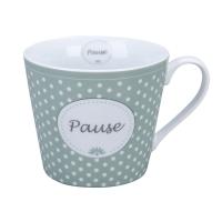 Porzellan-Tasse -  Pause