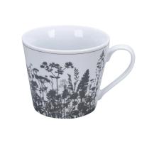 Porzellan-Tasse -  Flowerbed