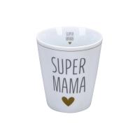 Porzellan-Becher -  Super Mama