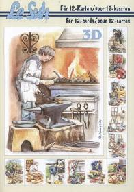 3D Bogen Buch Berufe - Format A5