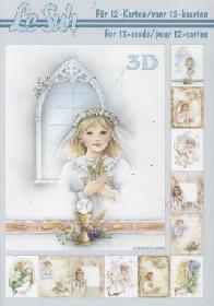 3D Bogen Buch Kommunion - Format A5