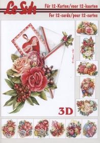 3D Bogen Buch Weihnachten Format A5