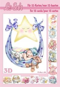 3D Bogen Buch Geburt Format A5