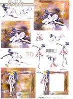 3D Bogen - Ballett - Format A4