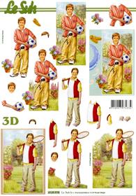 3D Bogen Jungen - Format A4
