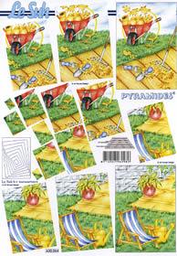 3D Bogen - Pyramides Format A4