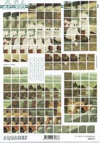 3D Bogen - Quadrate Format A4