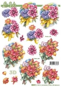 3D Bogen gestanzt - Format A4