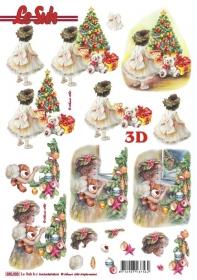 3D Bogen gestanzt Format A4