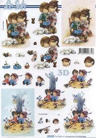 3D Bogen Kinder Format A4